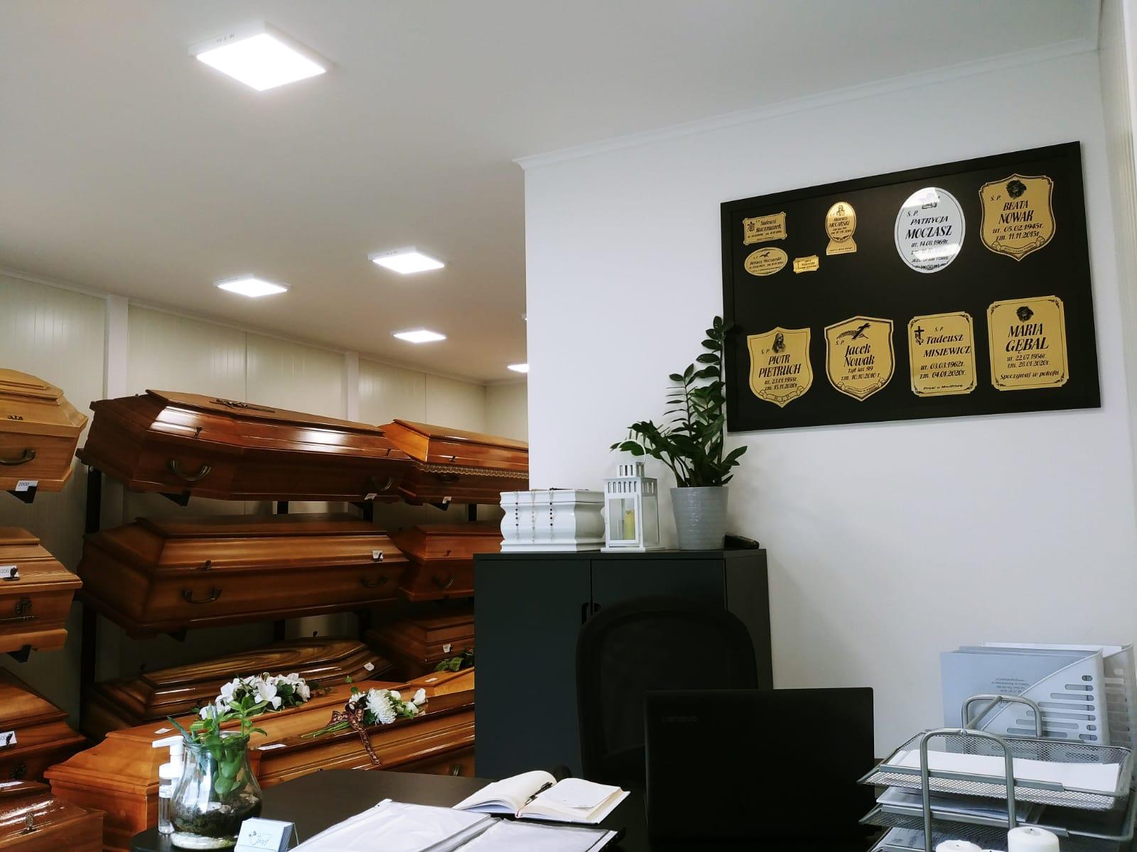 biuro domu pogrzebowego