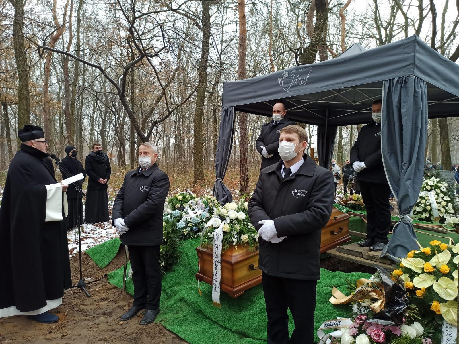 Pogrzeb w zimę